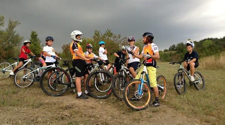 Mountain bike summer camp 2015