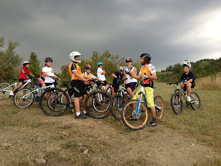 Mountain bike summer camp 2015